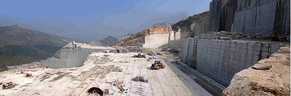kopalnia granitu w Chinach